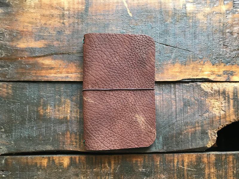 Brown Pocket Journal