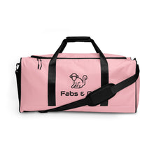 Load image into Gallery viewer, Fabs & Co Pink Duffle bag