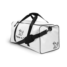 Load image into Gallery viewer, Fabs & Co White Duffle bag