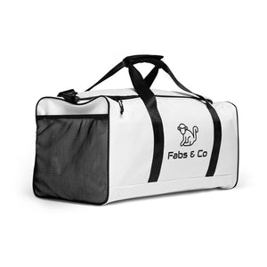 Fabs & Co White Duffle bag