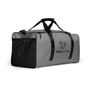 Fabs & Co Grey Duffle bag
