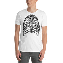 Load image into Gallery viewer, Halloween Skeleton X-Ray Mens T-Shirt
