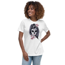 Load image into Gallery viewer, Día de los Muertos Womens Relaxed T-Shirt