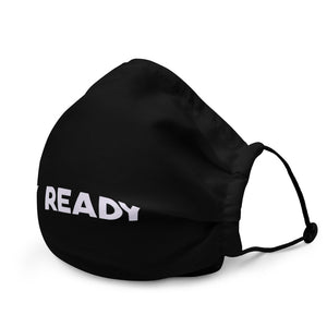 Stay Ready Premium Black Face Mask