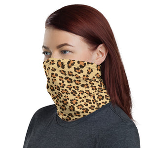 Leopard Print Face Mask/Neck Gaiter