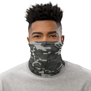 Grey Camo Face Mask/Neck Gaiter