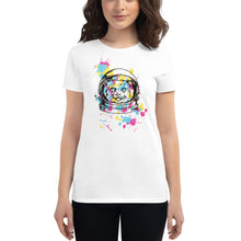 Load image into Gallery viewer, Cat in Space Womens T-Shirt
