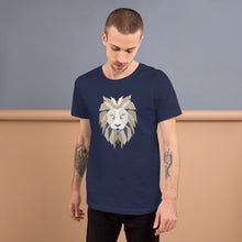 Load image into Gallery viewer, Polygon Lion Mens T-Shirt