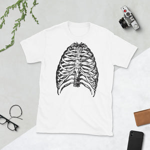 Halloween Skeleton X-Ray Mens T-Shirt