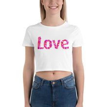 Load image into Gallery viewer, Love Womens Crop Top