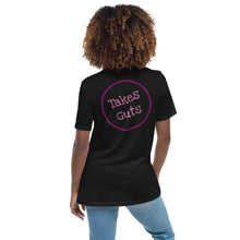 Load image into Gallery viewer, Crohn's & Colitis - Takes Guts Womens T-Shirt