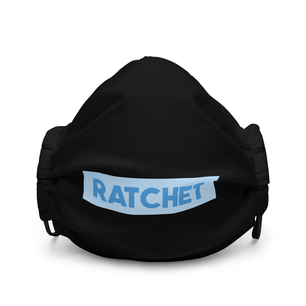 Ratchet Premium Black Face Mask