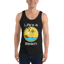 Load image into Gallery viewer, Life's a Beach Mens Vest/Tank Top