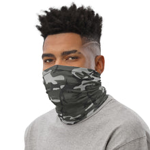 Load image into Gallery viewer, Grey Camo Face Mask/Neck Gaiter