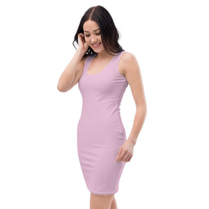 Lilac Womens Sleek Dress