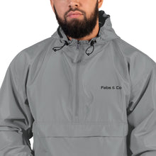 Load image into Gallery viewer, Fabs & Co x Champion Wordmark Logo Mens Packable Jacket