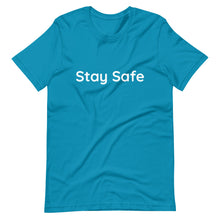 Load image into Gallery viewer, Stay Safe Mens T-Shirt