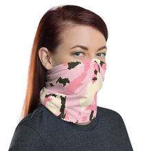 Load image into Gallery viewer, Pink Camo Face Mask/Neck Gaiter