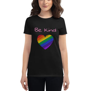 Be Kind Womens T-Shirt