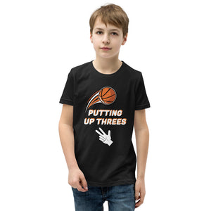 Putting Up Threes Boys T-Shirt