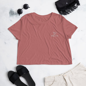 Original Logo Womens Crop Top