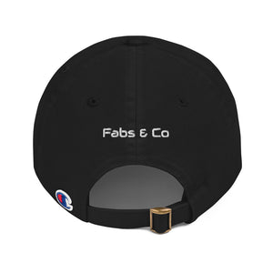 Fabs & Co x Champion White Logo Cap