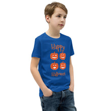 Load image into Gallery viewer, Halloween Pumpkins Boys T-Shirt