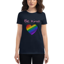 Load image into Gallery viewer, Be Kind Womens T-Shirt