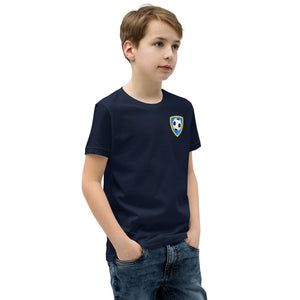 Number 10 Soccer Player Print Boys T-Shirt