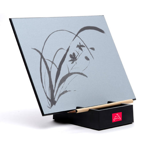 drying board, paint brush, art supply, Zen mindfulness art