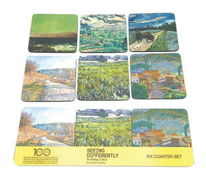 Landscape Paintings Six Coaster Set