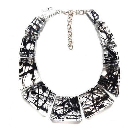 Laurent Guillot Strier Necklace