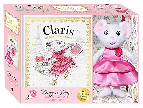 Claris The Chicest Mouse in Paris Book & Toy Gift Set