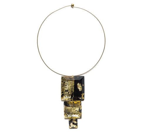Laurent Guillot Three Squares Pendant