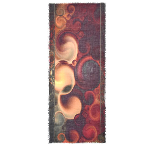 Birdina Abstract Wool Scarf