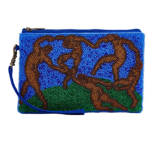 The Dance, by artist Henri Matisse has been transformed into this gorgeous hand beaded Club Bag. A great gift for the fashion accessory lover in your life.