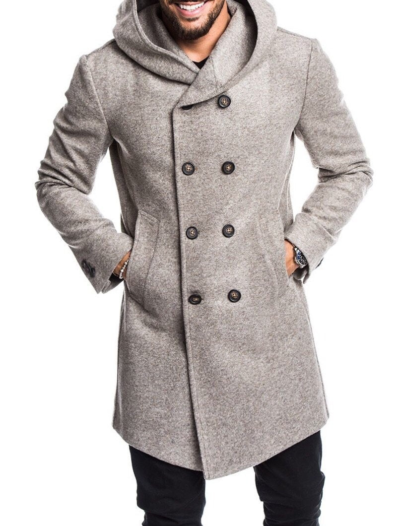 Men's Realm Casual Trench Coat