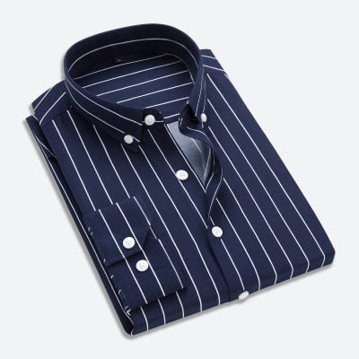 Men's Realm Classic Striped Shirt