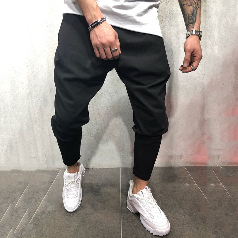 Ankle-Tied Joggers