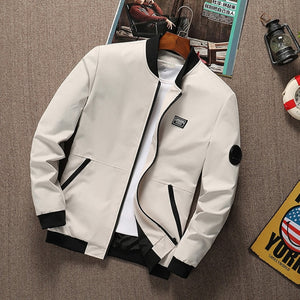 Men's Realm Zipper Bomber Jacket