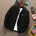 Load image into Gallery viewer, Men's Realm Zipper Bomber Jacket