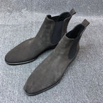 Load image into Gallery viewer, Dorobanti Suede Chelsea Boots