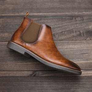 Berceni Leather Chelsea Boots