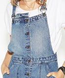 One Teaspoon Blue Society Dungaree Dress