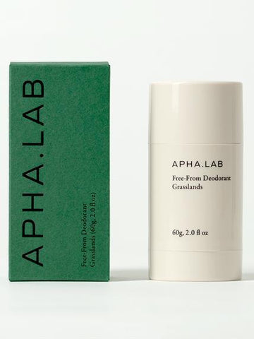 Apha Lab Natural Deodorant Grasslands