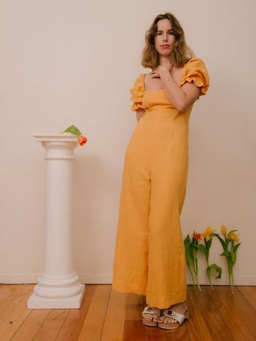 Sister Studios Ruby Jumpsuit Yellow