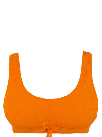 XCHARNAUD Hell Yeah Bikini Top Orange