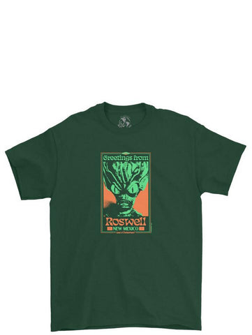 Playdude Roswell Tee Green