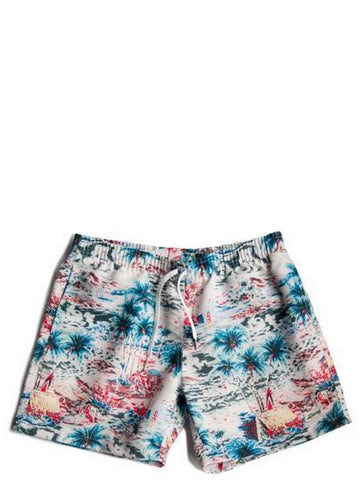 Bather Daytime Hawaii Swim Trunk