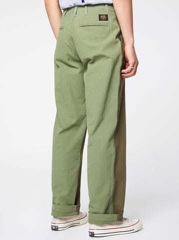 Stan Ray Military Chino Double Green Herringbone